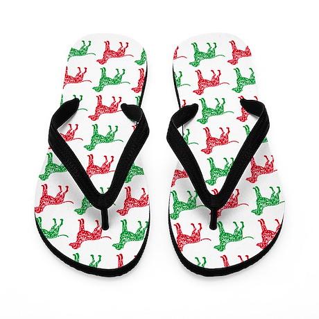 Dalmatian Christmas or Holiday Silhouettes Flip Fl