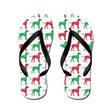 Dalmatian Christmas or Holiday Silhouettes Flip Fl