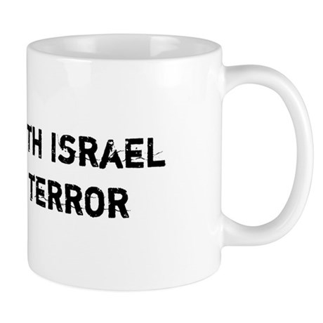 I stand with Israel against Terror Mug