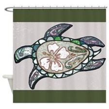 Turtle design Shower Curtain