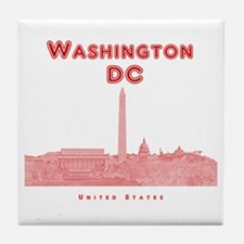 Washington DC Tile Coaster