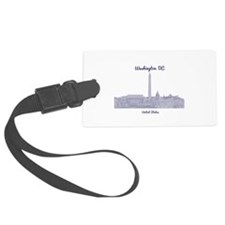 Washington DC Luggage Tag