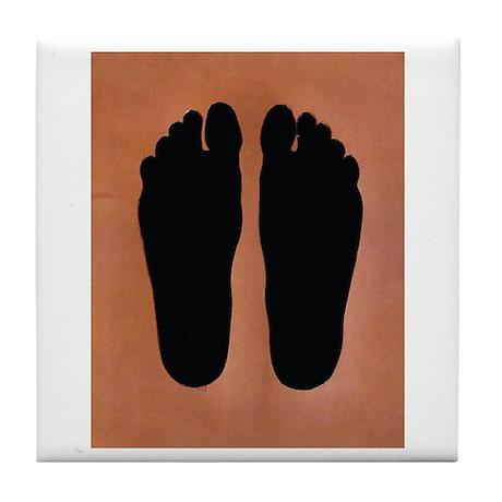 Feet Tile Coaster