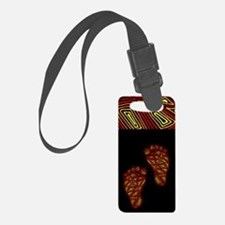 Tribal Toes Luggage Tag