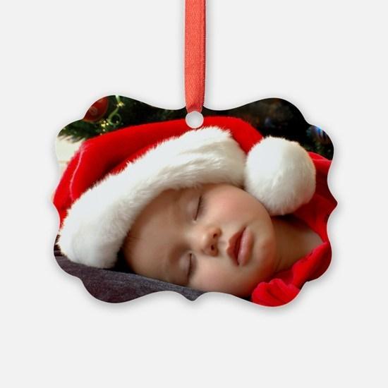 Add Your Photo Custom Ornament