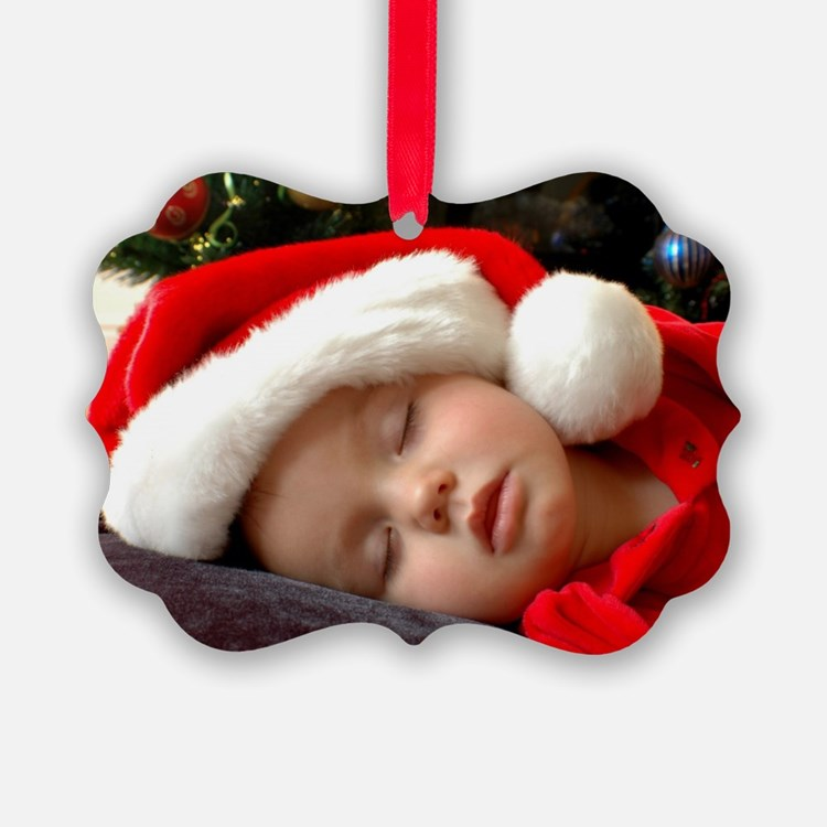 Add Your Photo Custom Ornament