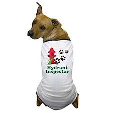 Hydrant Inspector Dog T-Shirt