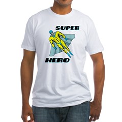 Super Hero Fitted T-Shirt