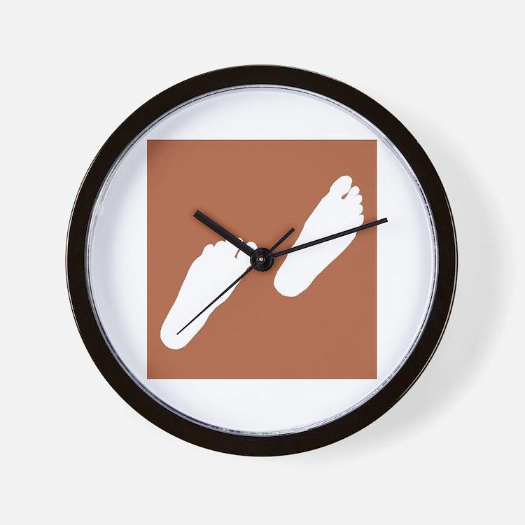 Step Wall Clock