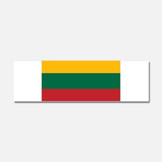 Lithuania - National Flag - Current Car Magnet 10