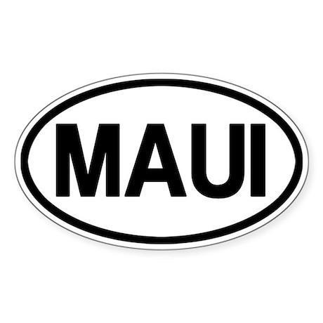 Maui Sticker (Oval)