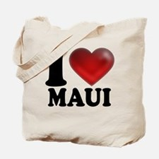 I Heart Maui Tote Bag