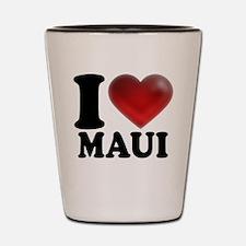 I Heart Maui Shot Glass