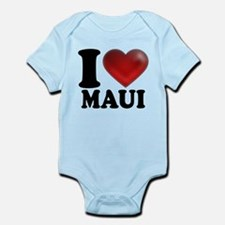 I Heart Maui Infant Bodysuit