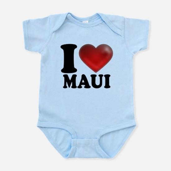 I Heart Maui Infant Bodysuit