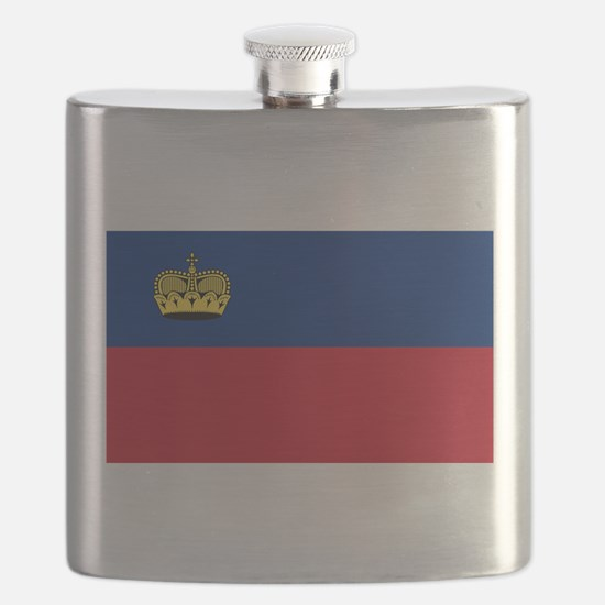 Liechtenstein - National Flag - Current Flask