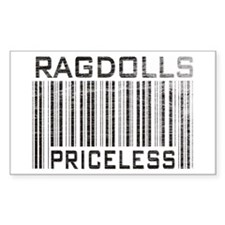 Ragdolls Priceless Rectangle Decal