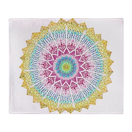 Moroccan Jewels Throw Blanket