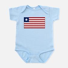 Liberia - National Flag - Current Infant Bodysuit