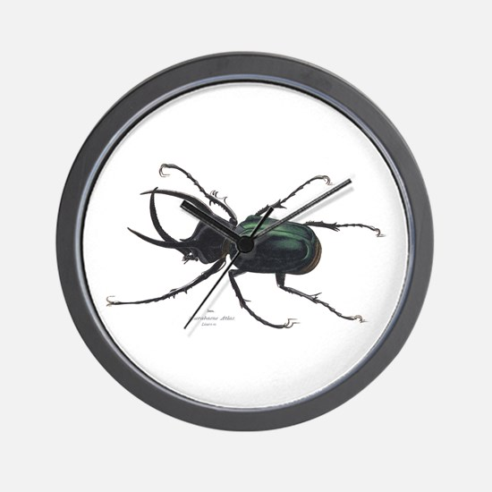 Scarab Atlas Beetle Wall Clock