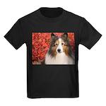 Autumn Leaves Kids Dark T-Shirt