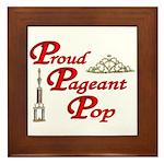 Pageant Pop Framed Tile