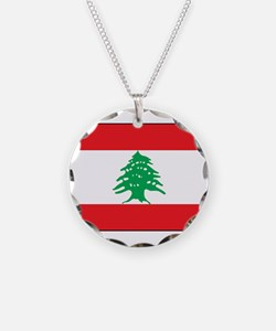 Lebanon - National Flag - Current Necklace