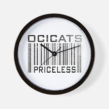 Ocicats Priceless Wall Clock