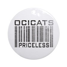 Ocicats Priceless Ornament (Round)