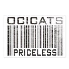 Ocicats Priceless Postcards (Package of 8)