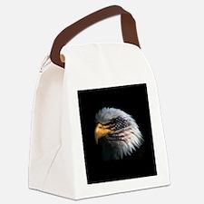 eagle3d.png Canvas Lunch Bag