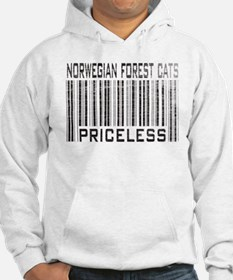 Norwegian Forest Cats Priceless Hoodie