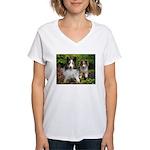 IMG_3115 copy.jpg Women's V-Neck T-Shirt