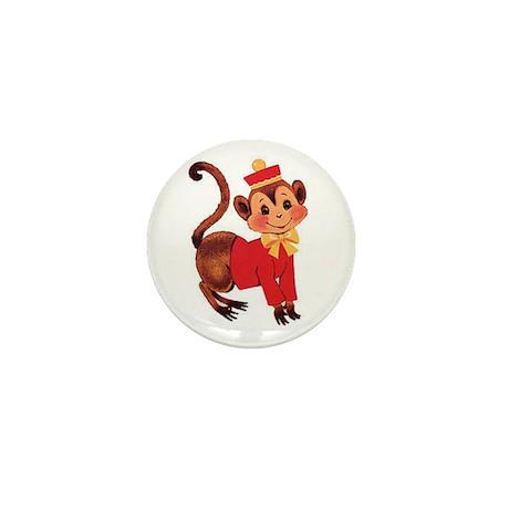 Circus Monkey Mini Button (100 pack)