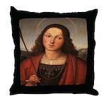St. Sebastian Throw Pillow