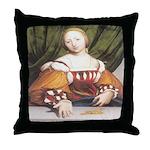 Lais of Corinth Throw Pillow