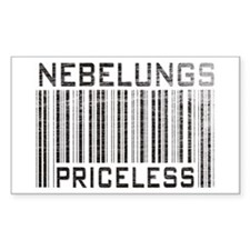 Nebelungs Priceless Rectangle Decal