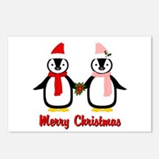 Merry Penguins Postcards (Package of 8)