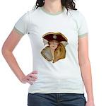 Glamour Girl - Beatrice Jr. Ringer T-Shirt