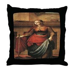 St. Catherine Throw Pillow