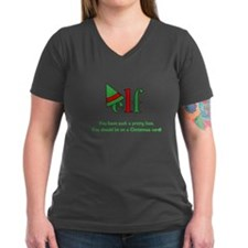Elf Christmas Card Quote Shirt