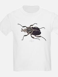 Goliath Beetle (Front) Kids T-Shirt