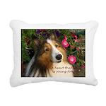 A heart that loves Rectangular Canvas Pillow