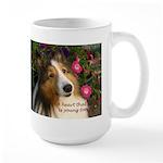 A heart that loves Large Mug