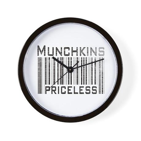Munchkins Priceless Wall Clock