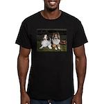 Friends Men's Fitted T-Shirt (dark)