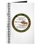 Army Sniper Custom Logo Journal