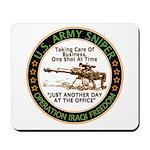 Army Sniper Custom Logo Mousepad