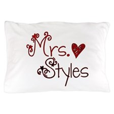 Mrs. Harry Styles Pillow Case