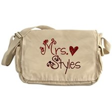 Mrs. Harry Styles Messenger Bag